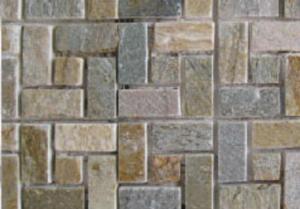 đá ghép trang trí mosai vân gỗ