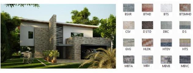 sản phẩm đá ốp tường