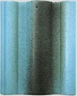 Ngói màu Lama ROMAN xanh biển