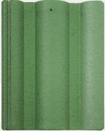 Ngói màu Lama Roman xanh lá