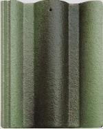 Ngói màu Lama Roman xanh lục bảo