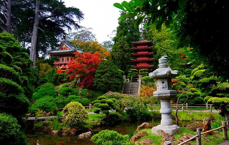 Japanse Tea Gardens - San Franciso, USA