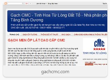 giao dien trang web gachcmc
