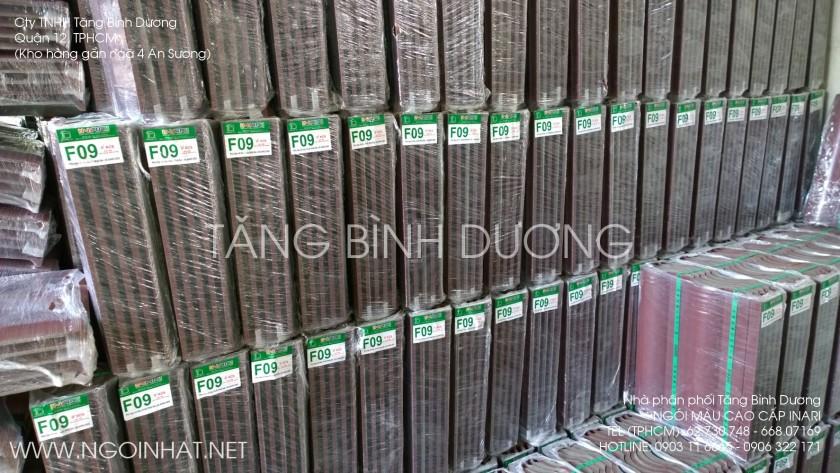 Ngói màu cao cấp INARI nhập tại kho Tăng Bình Dương, Quận 12, TP. Hồ Chí Minh